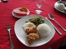 英語のフィリピン・セブ留学の食事