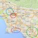 ロサンゼルス群(LA)の地域について