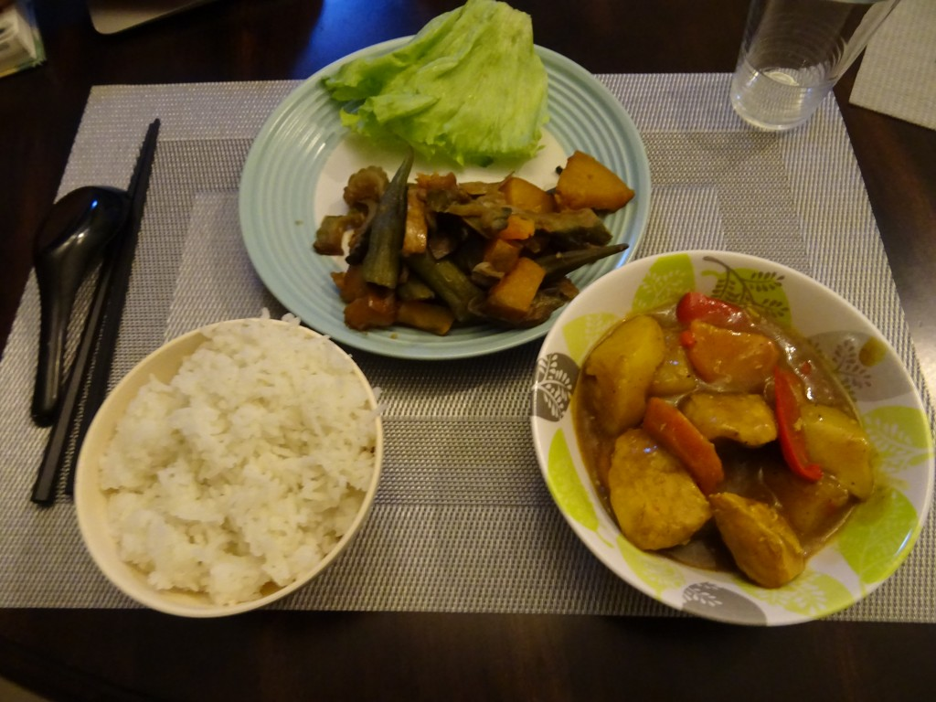 HLCA_寮の夕食