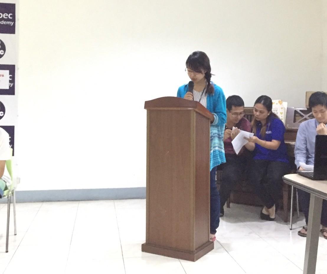 卒業式のスピーチ