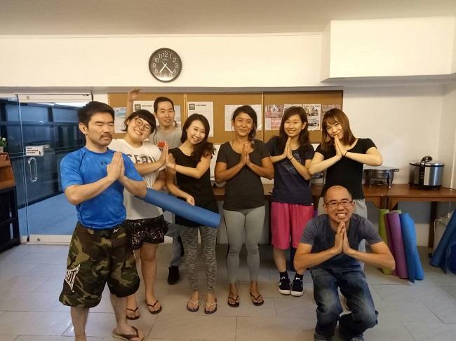 Yoga class①